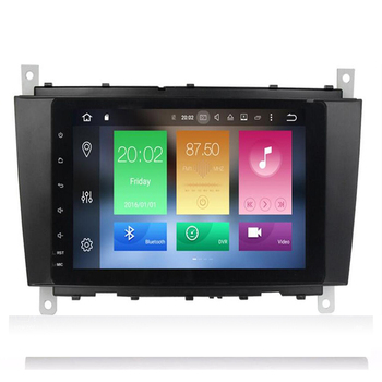 AutoRadio 2 Din Android 10 Car DVD Player For Mercedes BenzC-Classs CLC W203 2004-2007 C200 C230 C240 C320 C350 CLK W209 GPS 4G image
