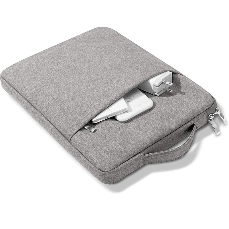 Light grey Other For iPad 10 2inch 2020 8th Generation Tablet Handbag Zipper Carrying Bag Compatible 2019 7th 10