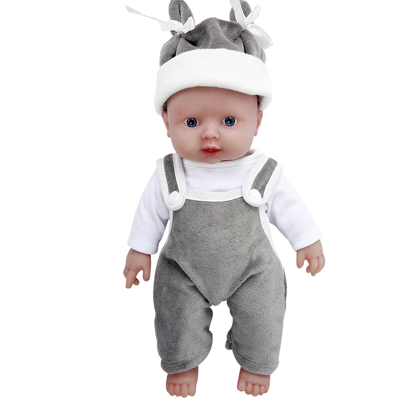 IVITA WB1505 30cm Full Body Soft Silicone Lifelike Reborn Newborn Baby Boy Dolls 1.1kg Best Small Toys For 3 Year Old Girls