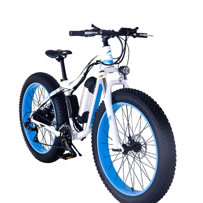 26 Inch Fat Tire Electric Bike Men And Women Electric Bicycles