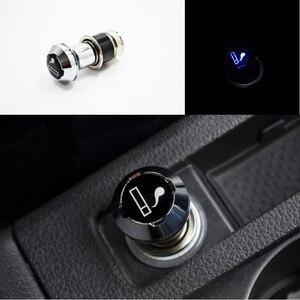 Blue LED Light Car Cigarette L