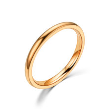 2019 New Fashion Stainless Steel Couple Ring Rock Vintage King Queen Ring for Women Men Delicacy Jewelry Wedding Gifts(China)