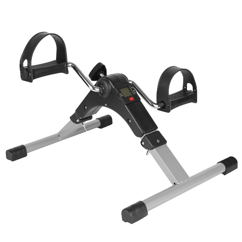 Exercice portatif de pédale de bras et de jambe de pliage avec l'affichage numérique d'affichage à cristaux liquides - 1