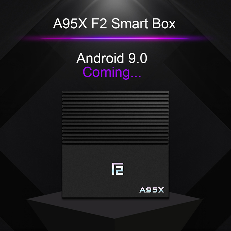 Tv box android 9.0 Amlogic S905x2 A95x F2 android tv box 4GB 32GB 64GB bluetooth 2.4/5G wifi voix Contorl Smart tv android box - 2