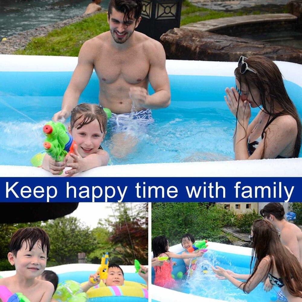 Piscina inflável para adultos, banheira de crianças,