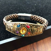 Marvel Avengers Endgame Infinity Bracelet For Women Men Thanos Infinity Power Bangle Fashion Jewelry цена и фото