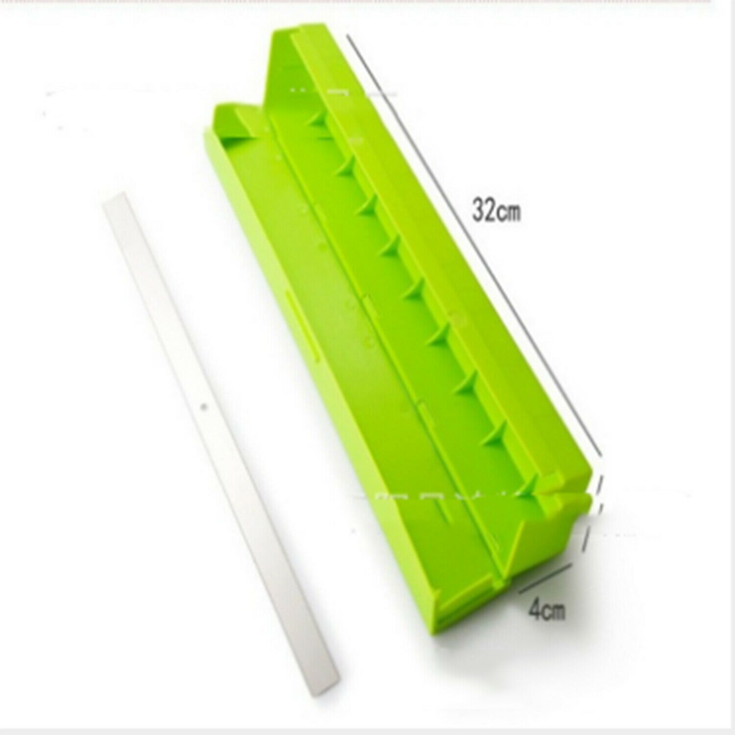 Plastic Kitchen Cling Foil And Film Wrap Dispenser Cutter Storage