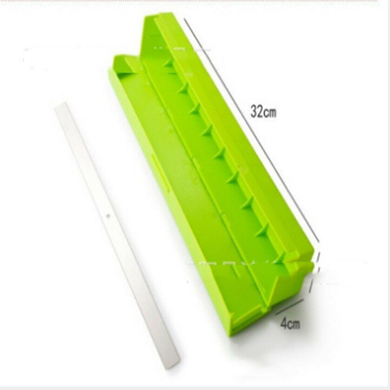 Plastic Kitchen Film Cutter Plastic Food Wrap Cutter Cling Cling Film Foil Cutter Wrap Dispenser Cutter Storage
