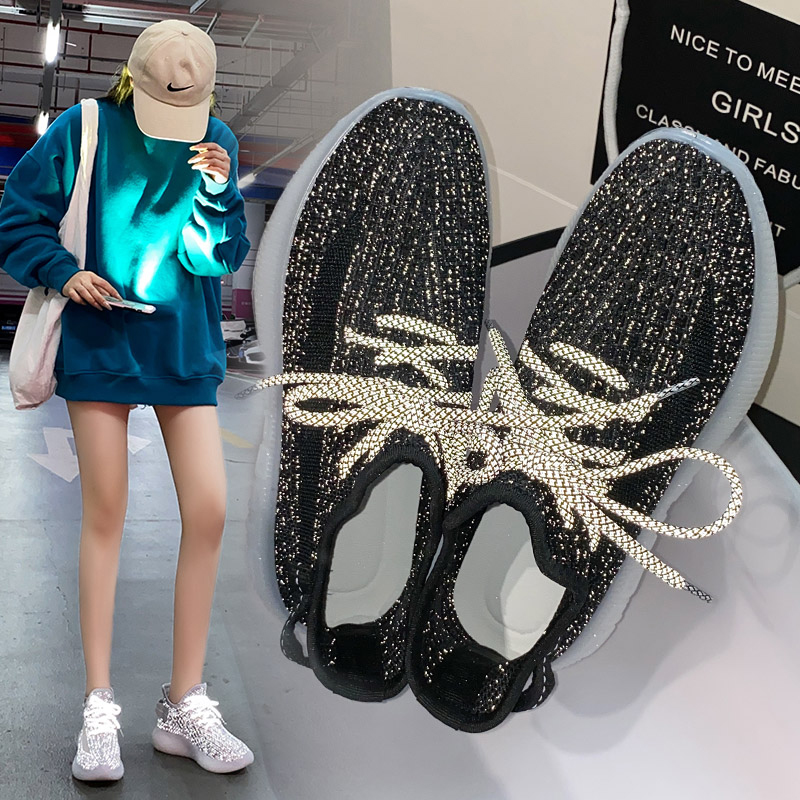 2020 New Women Platform Chunky Sneakers Casual Vulcanize Shoes Luxury Designer Female Fashion Sneakers Chaussures Femme