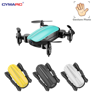 Teeggi T10 Mini Drone with Camera HD Foldable WiFi FPV RC Quadcopter Headless Mode Altitude Hold VS S9 Micro Pocket Selfie Dron(China)
