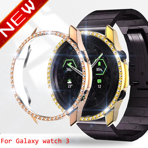 Watch case for Samsung galaxy watch 3 active 2 40mm 44mm bumper Protector HD Full coverage Screen Protection case for samsung
