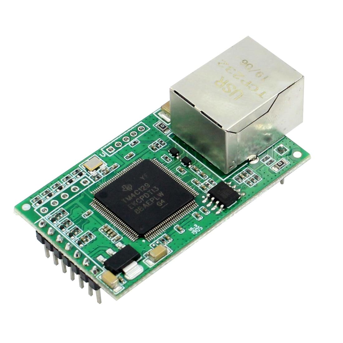 1 piece USR-TCP232-E2 Pin Type Serial UART TTL to LAN Ethernet Module 2 serial ports 1