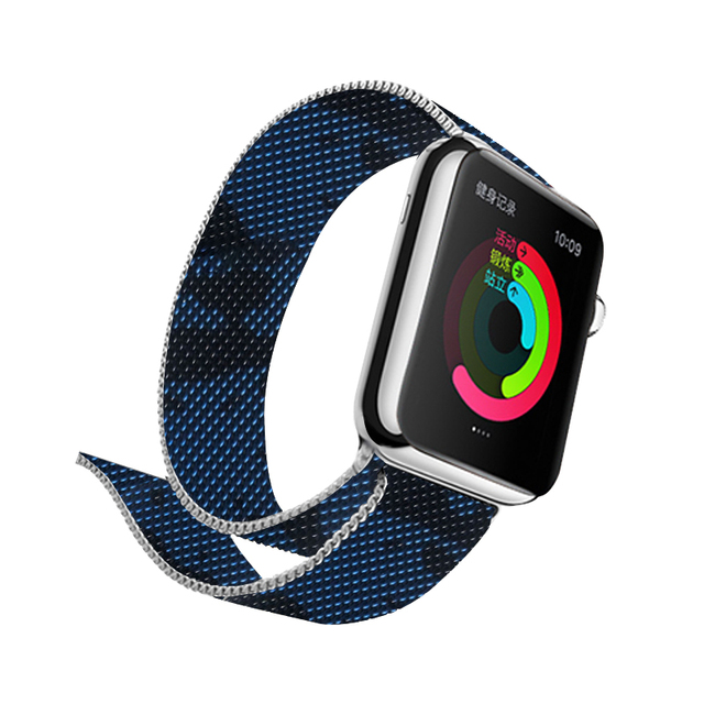 Milanese Printing Band for Apple Watch 3