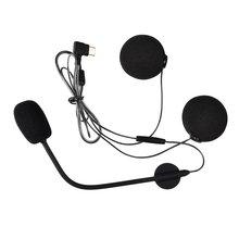 Fodsports наушники с микрофоном подходят только для m1 s мотоциклетный