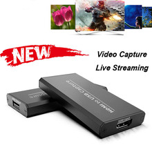 4K HDMI dispositif de carte de Capture vidéo 1080P HD en direct Streaming USB 2.0 HDMI carte de Capture pour PC PS4 XBOX One jeu enregistreur de flux nouveau