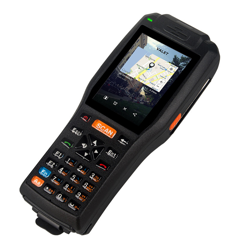 4G Handheld 13.56HZ Rifd PDA Industry Handheld Terminal With Printer(Standard Edition )