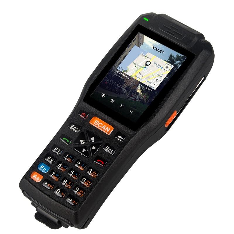 902Mhz-928Mhz 865MHz-868MHz Long Distance UHF RFID Reader 4G Handheld PDA Industry Handheld Terminal Pos