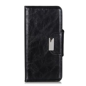 Image 3 - 6 слотов для карт бумажник флип кожаный чехол для LG Stylo 5 4 K40 K50 G8 G8S ThinaQ X4 стенд Магнитная застежка ID & кредитный держатель для карт