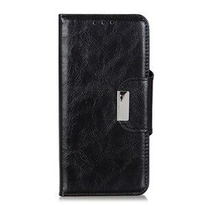 Image 3 - 6 ranuras para tarjetas cartera Flip Funda de cuero para LG Stylo 5 4 K40 K50 G8 G8S ThinaQ X4 soporte magnético cierre ID y bolsillo de tarjetas de crédito