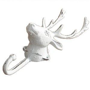Yaratıcı dökme demir geyik kafası at kafa kanca avrupa Retro ferforje dekoratif ceket askısı kanca yaratıcı duvar dekorasyon