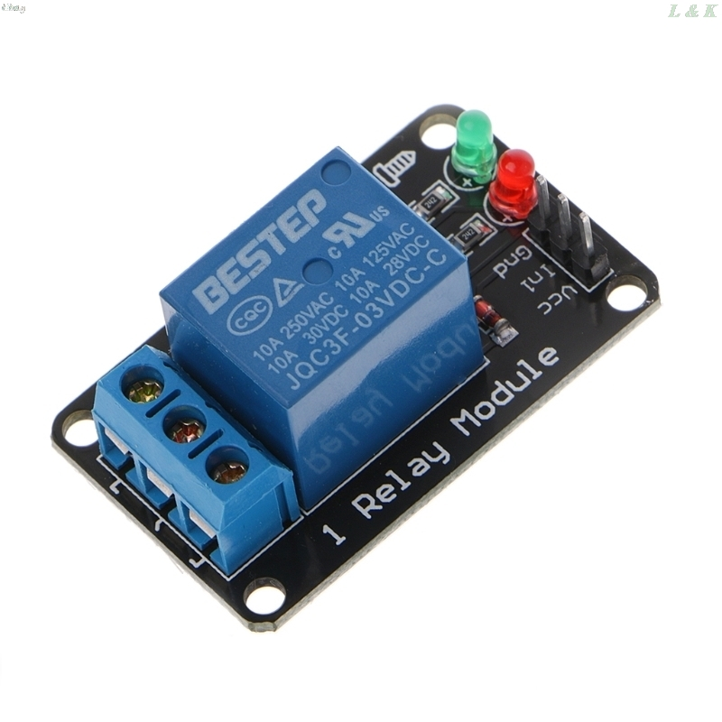 1PCS 1 Channel 3V Relay Module 3.3V Low Level Shoo