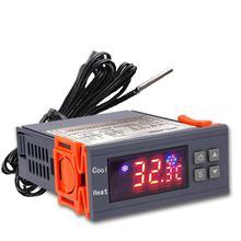 STC-3000 alta precisão 12v 24v 220v digital termostato controlador de temperatura termômetro sensor higrômetro