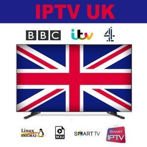 Image 1 - المملكة المتحدة IPTV M3U الاشتراك اسبانيا أوروبا المملكة المتحدة بي بي سي ITV قناة 4 أحدث الأفلام مع الكبار XXX ل مربع التلفزيون الذكية Enigma2 IOS