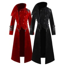 NEW Men Cosplay Costume Party Vintage Royal Style Trench Coats