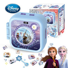 Original Disney Frozen 2 Girls 3D Sticker Maker Machine Magic Stickers Set Kids Handmade DIY Production Girl Gift Toys With Box