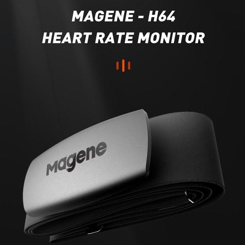 cycling Magene Mover H64 Dual Mode ANT+ & Bluetooth 4.0 Heart Rate Sensor With Chest Strap Computer Bike Wahoo Garmin Sportscycling antcycling sensorant sensor -