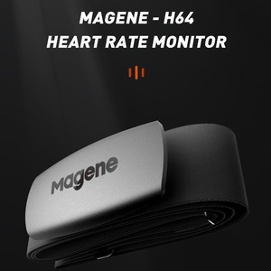 cycling Magene Mover H64 Dual Mode ANT+ & Bluetooth 4.0 Heart Rate Sensor With Chest Strap Computer Bike Wahoo Garmin Sports(China)