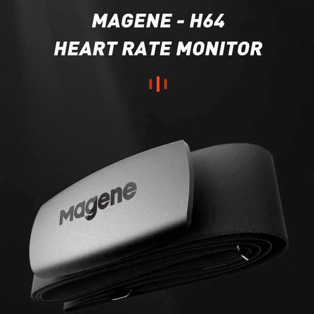 cycling Magene Mover H64 Dual Mode ANT+ & Bluetooth 4.0 Heart Rate Sensor With Chest Strap Computer Bike Wahoo Garmin Sports