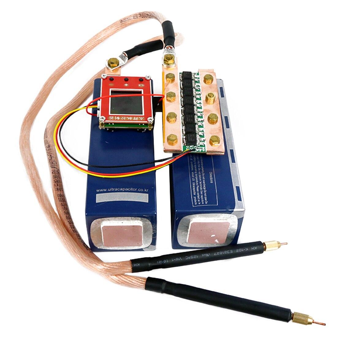 DIY Portable Spot Welder Nickel Sheet Fara Capacitor Spot Welder For 5V Power Supply For Kids Developmental Early Education Toys