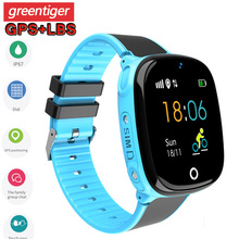 Смарт часы HW11 с GPS, водонепроницаемые Смарт часы с шагомером, Детские Смарт часы с экстренными вызовами, безопасный GPS трекер, 2G Детские Смарт часы