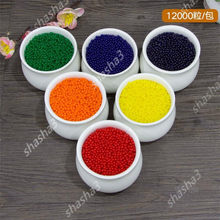 100 stks/zak Kristal Bodem Modder Hydrogel Gel Kids Kinderen Toy Water Kralen Opgroeien Orbeez Water Ballen Wedding Home Decor ingemaakte(China)