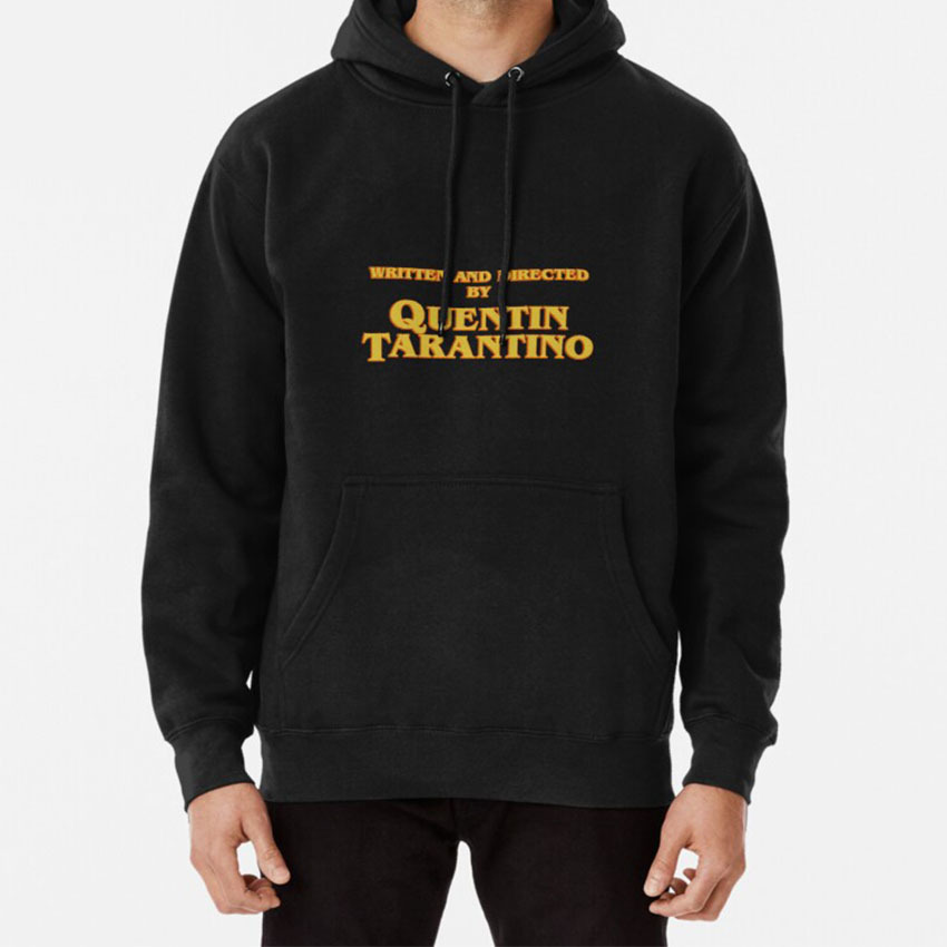 Written And Directed By Quentin Tarantino Hoodie Tarantino Written Directed Pulp Fiction Kill Bill Movie Cinema Cult