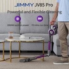 JIMMY – aspirateur à main sans fil JV85 Pro, puissance d'aspiration 200aw, moteur numérique sans balais 550W, bruit Ultra-faible, HEPA