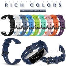 Силиконовый ремешок для часов для huawei Honor 5, Смарт-часы, браслет, сменный ремешок, аксессуары