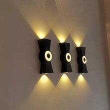 Porch Outdoor Wall Lamp Modern IP65 LED Home Lighting Aluminium Baking 200 * 70 * 45 Shinyying ROHS
