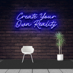Custom Made Creat Your Own Reality Neon Sign Wall Lights Party Wedding Shop Window Restaurant Birthday Decoration
