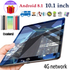 [Hot Sale] Andriod Tablet PC 10.1 Inches Large Screen Dual SIM 4G Phone Tablet PC Mic WIFI  4GB RAM 64GB ROM