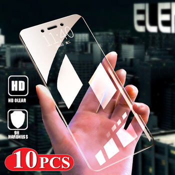 10 PCS Tempered Glass For Xiaomi Redmi 7 7A 6 Pro 6A 5 Screen Protective for Redmi Note 5 5A 6 7 Pro cover Global shipping