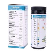 Urs 14 100 полоски для анализа мочи химические реагенты Тесты