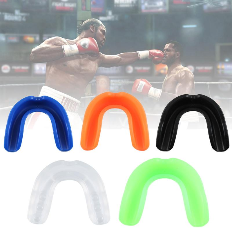 Oral Teeth Protect Adult Mouthguard For Boxing Sports MMA Football Basketball Karate Muay Thai Mouth Guard Safety Tool