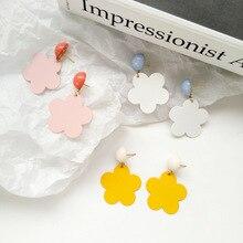 Sweet jewelry daily wear with personality flower earrings trendy beautiful women girl gift