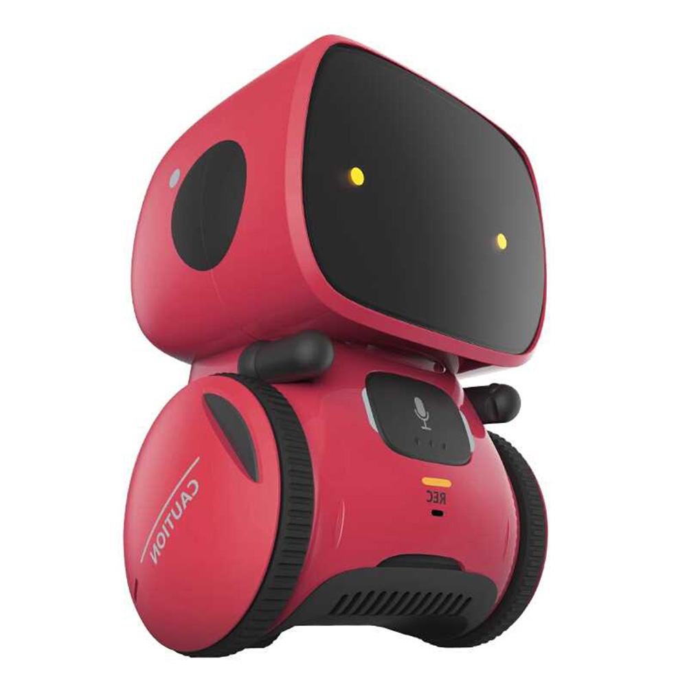 Interactive Educational Smart Robot Toy Sensitive Intelligent Toy For Kids With Dialog Recording And Touch Control Function