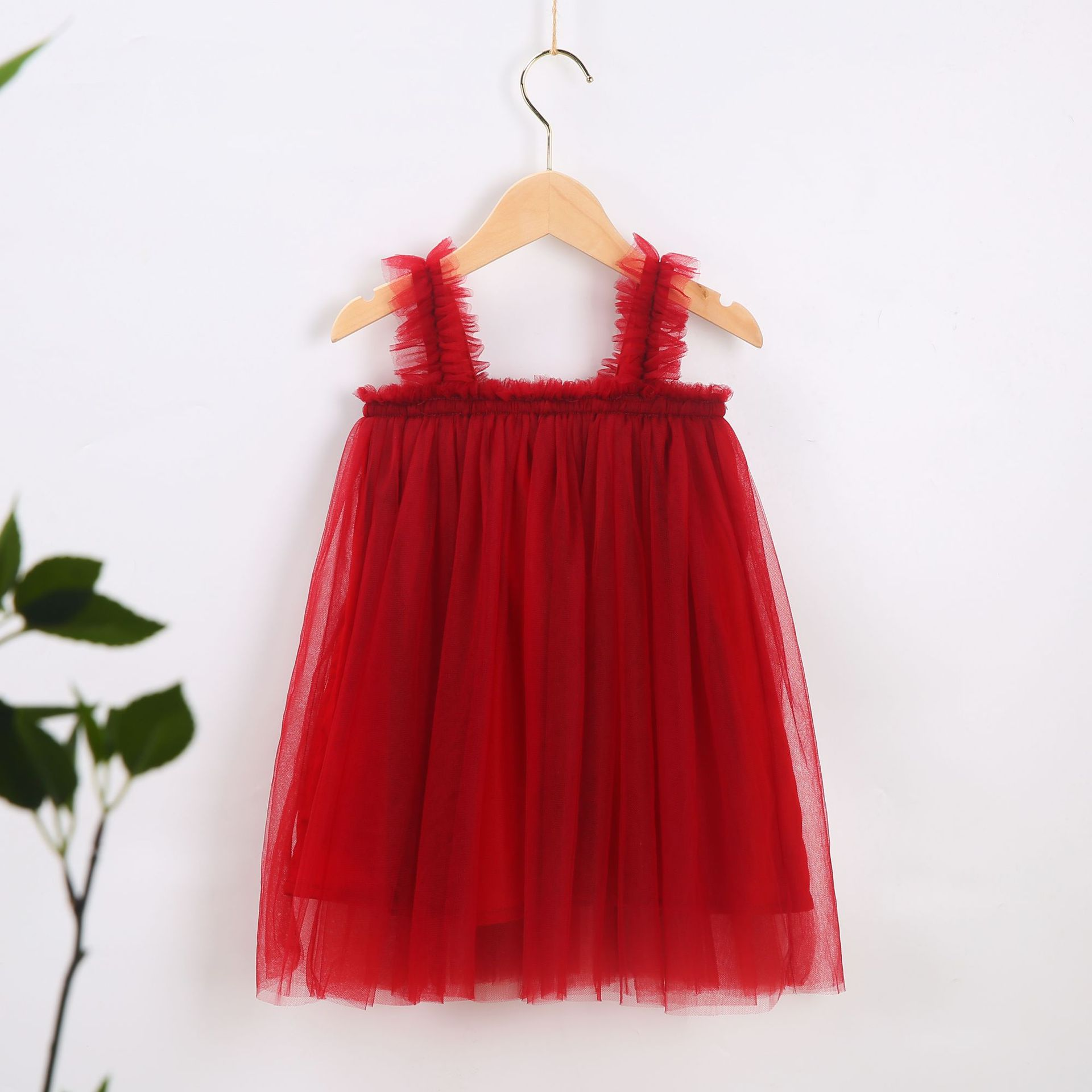VIDMID Baby Girls summer Dresses Cotton sweet lace Dresses Kids girls vests Clothes children's girls sleeveless clothing 7065 03 3