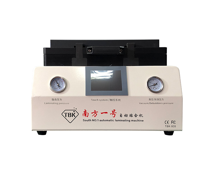 TBK Bubble Removing Vacuum Laminating Machine with LCD Touch Screen and Large Laminating Area 1