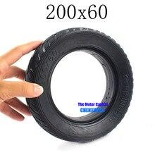 Хорошая репутация 200X60 8 дюймов скутер твердые шины подходит для электрического скутер вакуумные шины, Электрический Ховерборд скутер