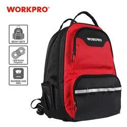 Bolsa de herramientas de nuevo diseño 2020 de WORKPRO, mochila multifunción, bolsa organizadora de herramientas, bolsas de herramientas a prueba de agua, mochila